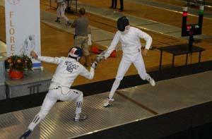 Matthijs in kwartfinale NK 2012, tegen Kelvin Hilgeholt